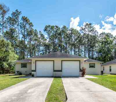 Palm Coast Multi Family Home For Sale: 15 Bunker View Dr