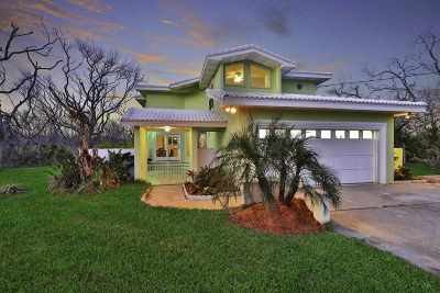Single Family Home For Sale: 6500 Old A1a