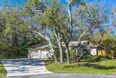 St Augustine Single Family Home For Sale: 26 Deanna Dr