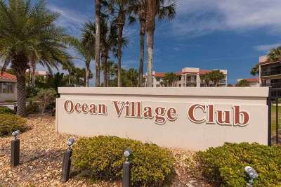 St Augustine Beach FL Condo For Sale: $319,900