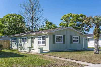 St Augustine Single Family Home For Sale: 203 Baracoa Ct