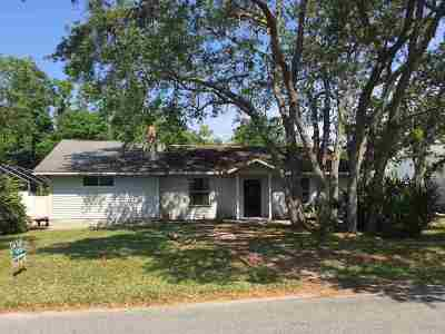 St Augustine Single Family Home For Sale: 211 Royal Road