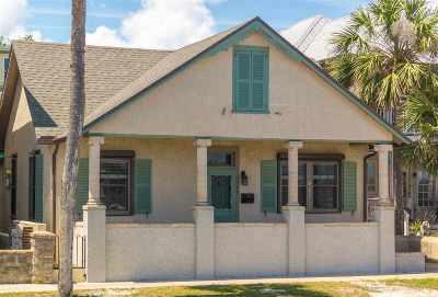 St Augustine Single Family Home For Sale: 162 Avenida Menendez