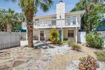 Vilano Beach Single Family Home For Sale: 160 Manresa Road