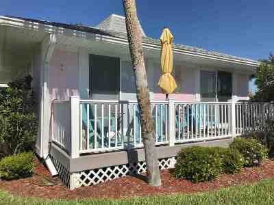 St Augustine Beach FL Single Family Home For Sale: $350,000