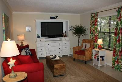 St Augustine Beach Condo For Sale: 47 Schooner Court- Furnished #47