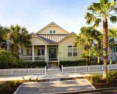 St Augustine Beach FL Single Family Home For Sale: $569,000