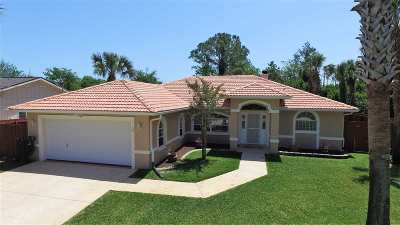 Palm Coast Single Family Home For Sale: 2 Clee Ct