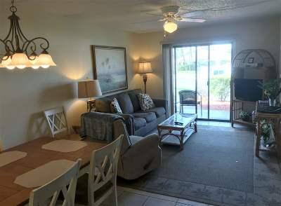 St Augustine Beach FL Condo Contingent: $214,900