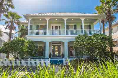 St Augustine Beach Single Family Home For Sale: 460 Ocean Grove Circle