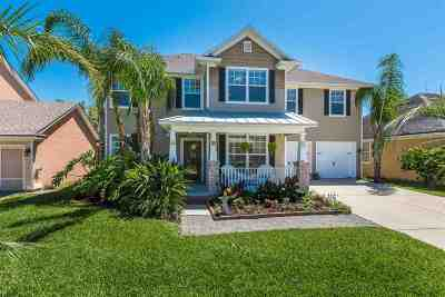 St Augustine Beach FL Single Family Home For Sale: $445,000