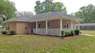 St Augustine Single Family Home For Sale: 4575 Wolfe Road