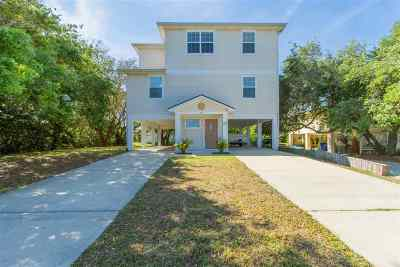 St Augustine Single Family Home For Sale: 50 Kon Tiki Circle