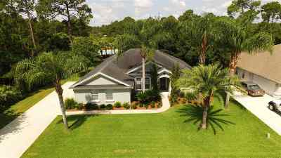 St Augustine FL Single Family Home For Sale: $409,000