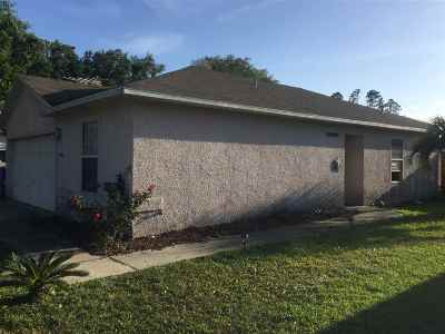 St Augustine FL Single Family Home For Sale: $160,000