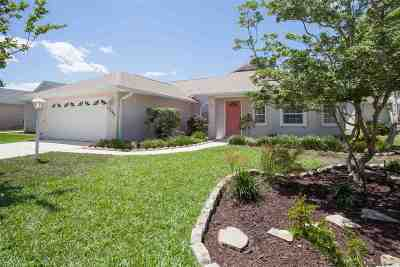 St Augustine FL Single Family Home For Sale: $320,000