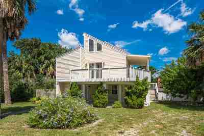 Vilano Beach Single Family Home For Sale: 48 Manresa Road