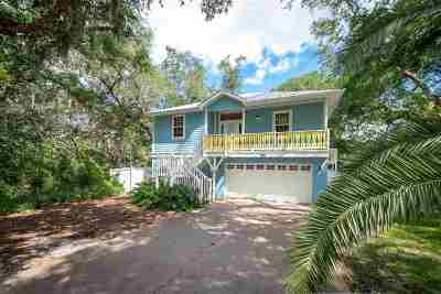 St Augustine Beach Single Family Home For Sale: 124 Kings Quarry Ln.