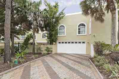 St Augustine Single Family Home For Sale: 20 Seascape