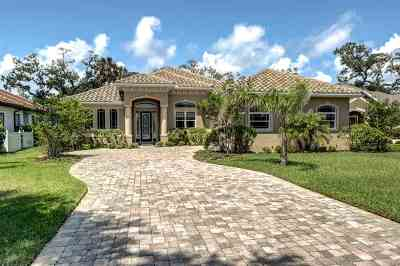 Palm Coast Single Family Home For Sale: N 45 Riverwalk