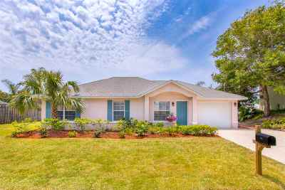 St Augustine Single Family Home For Sale: 503 F Street