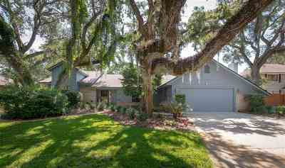 St Augustine Single Family Home For Sale: 18 Sea Oaks Dr
