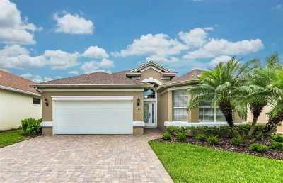 St Augustine Single Family Home For Sale: 760 El Vergel Lane