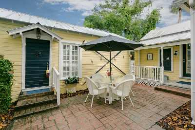 St Augustine Single Family Home For Sale: 60 Water Street