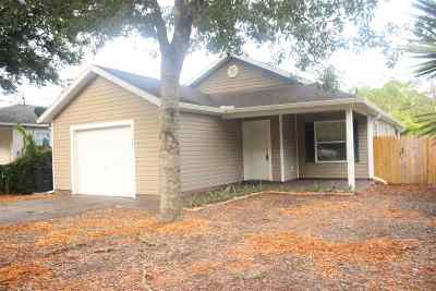 St Augustine FL Single Family Home For Sale: $163,000