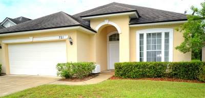 St Augustine Single Family Home For Sale: 721 Porto Cristo Ave