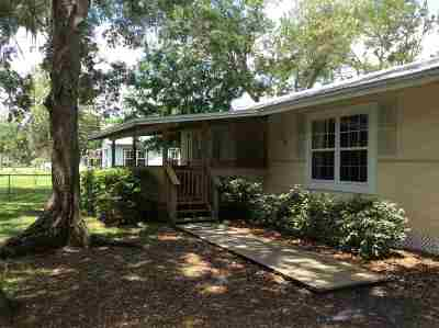 St Augustine Single Family Home For Sale: 210 Estrada Ave