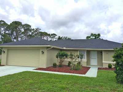 St Augustine Single Family Home For Sale: 733 Saco Court