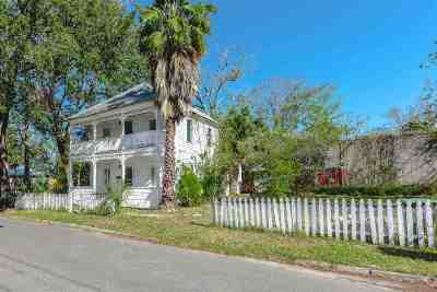 St Augustine Single Family Home For Sale: 69 Oneida Street