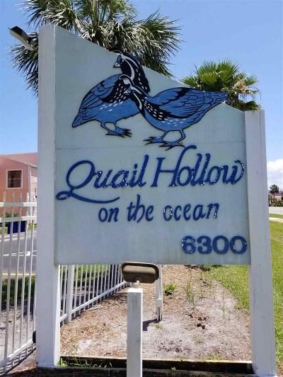 St Augustine Beach FL Condo For Sale: $165,000