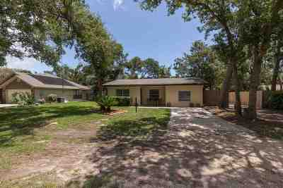 St Augustine FL Single Family Home For Sale: $239,900