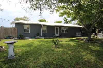 St Augustine FL Single Family Home For Sale: $209,900