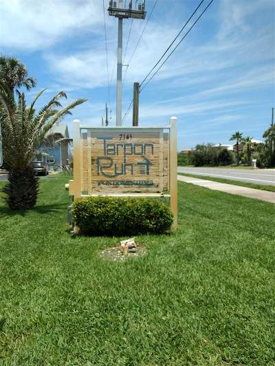 St Augustine Beach Condo Contingent: 7145 A1a South #43