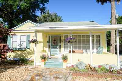 St Augustine FL Single Family Home For Sale: $349,900