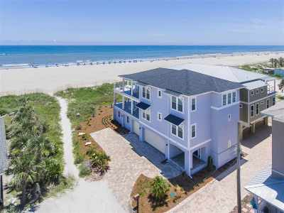 St Augustine Beach Single Family Home For Sale: 1a 15th Street