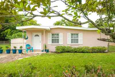 St Augustine Single Family Home Contingent: 22 Rollins Ave