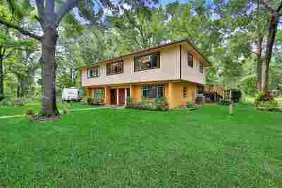 Single Family Home For Sale: 5301 Church Road