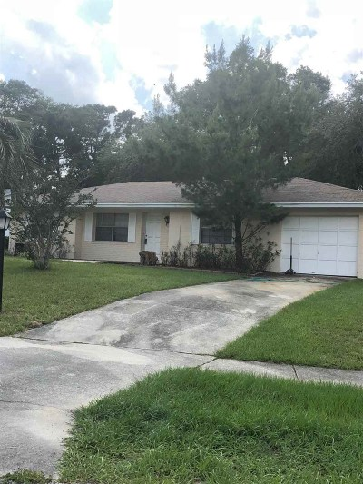St Augustine Single Family Home Contingent