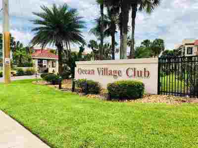 St Augustine Beach Condo For Sale: S 4250 A1a #H-22