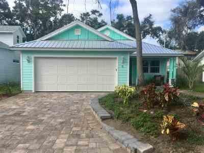 Saint Johns County Single Family Home For Sale: 8 Lisbon Street