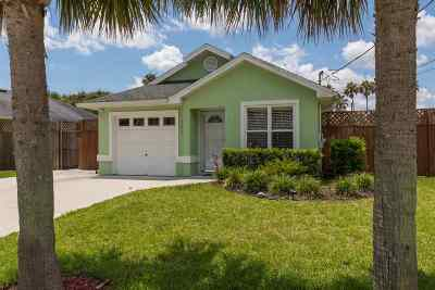 St Augustine Beach FL Single Family Home Contingent: $415,000
