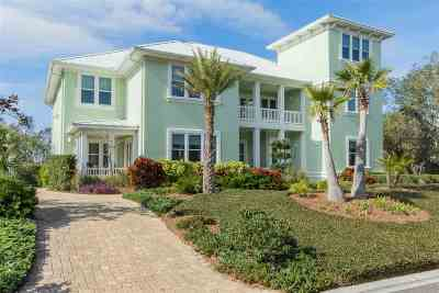 St Augustine Beach Single Family Home For Sale: 888 Ocean Palm Way