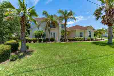 St Augustine Single Family Home For Sale: 4320 Palm Street