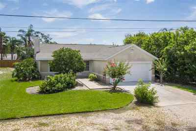 St Augustine Single Family Home For Sale: 5448 5th St
