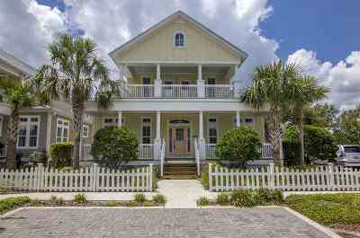 St Augustine Single Family Home For Sale: 149 Island Cottage Way