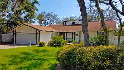 St Augustine Single Family Home For Sale: 6320 Gomez Road